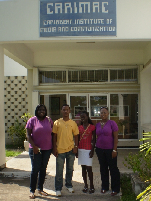 Grenadian Journalists at CARIMAC in Jamaica