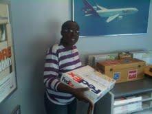 MWAG Secretary Nicole Best with sealed entries box
